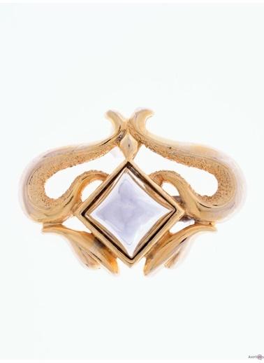 Asortishey Broş Altın